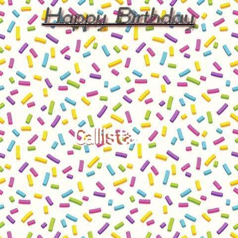 Happy Birthday Wishes for Callista