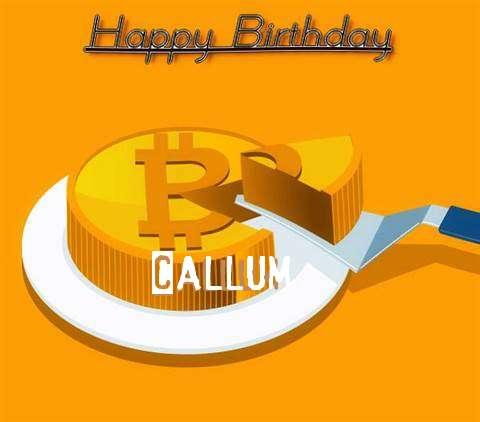 Happy Birthday Wishes for Callum