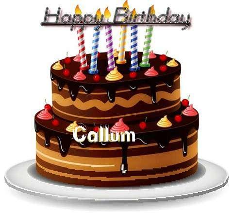 Happy Birthday to You Callum