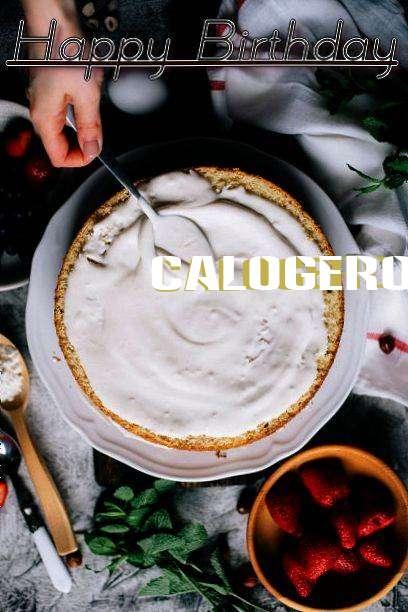Happy Birthday Cake for Calogero