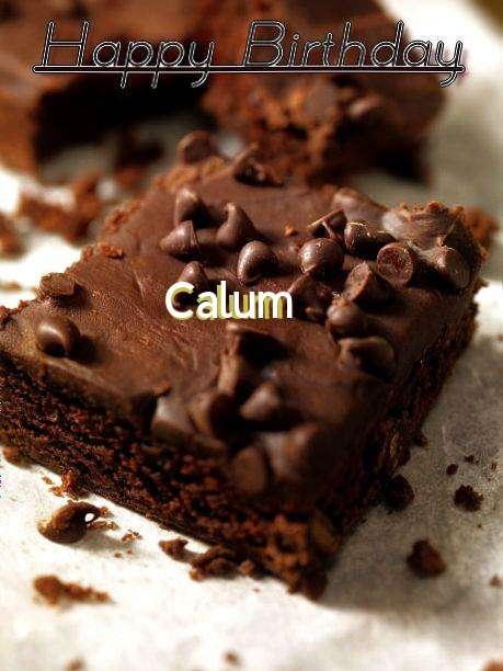 Happy Birthday Calum Cake Image