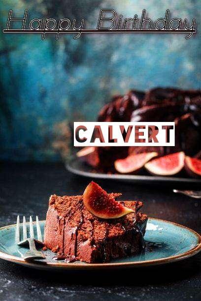 Happy Birthday Calvert Cake Image