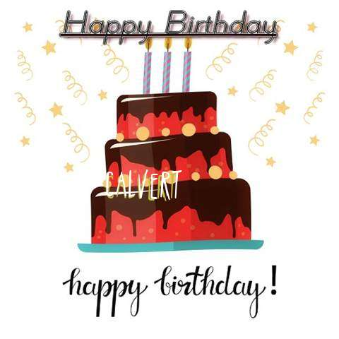 Happy Birthday Cake for Calvert
