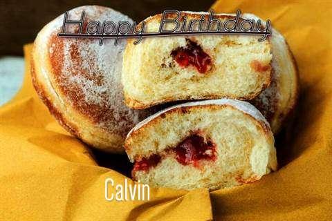 Happy Birthday Cake for Calvin