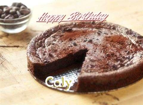 Happy Birthday Cake for Caly
