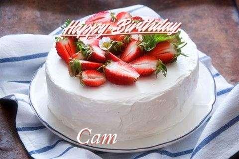 Happy Birthday Cake for Cam