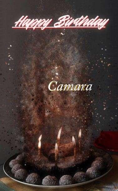 Happy Birthday Cake for Camara