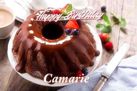 Happy Birthday Camarie Cake Image