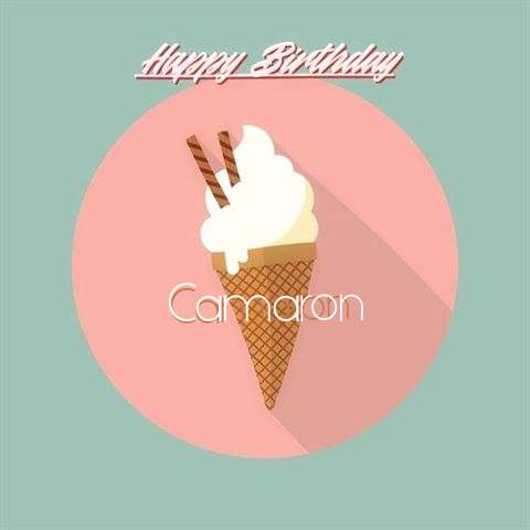 Happy Birthday Camaron