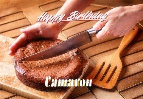 Happy Birthday Camaron Cake Image