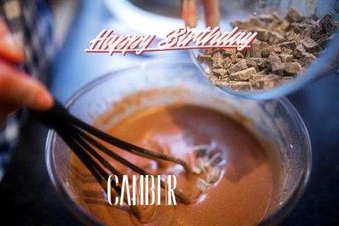 Happy Birthday Camber Cake Image