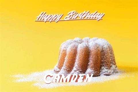 Happy Birthday Camden