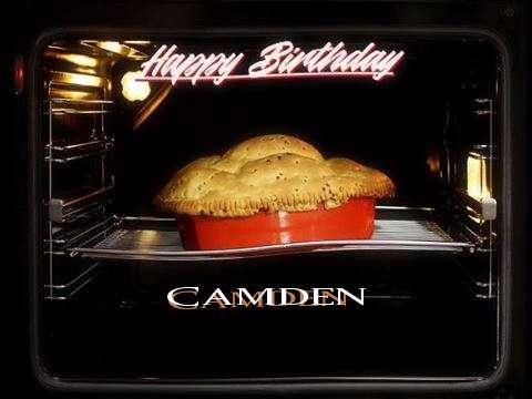 Happy Birthday Wishes for Camden