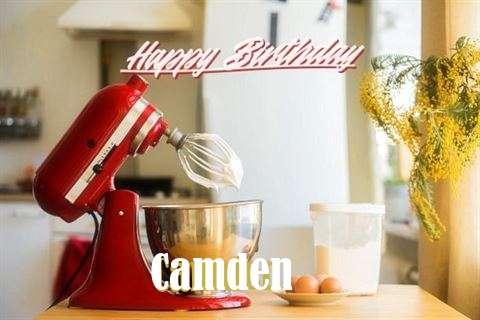 Happy Birthday to You Camden