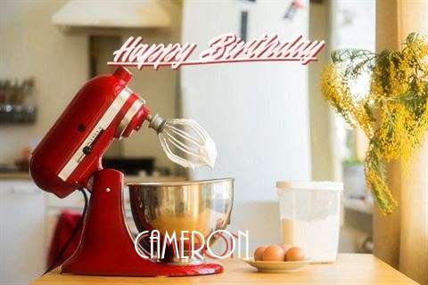 Happy Birthday to You Cameron