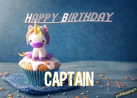 Captain Birthday Celebration