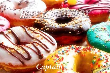 Happy Birthday Cake for Captain