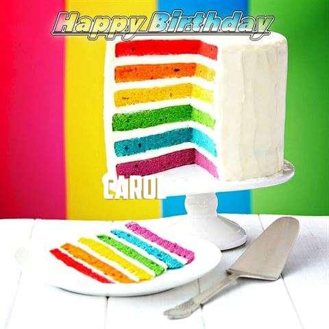 Carol Birthday Celebration