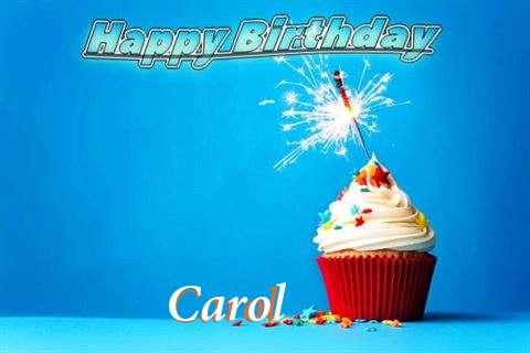 Happy Birthday to You Carol