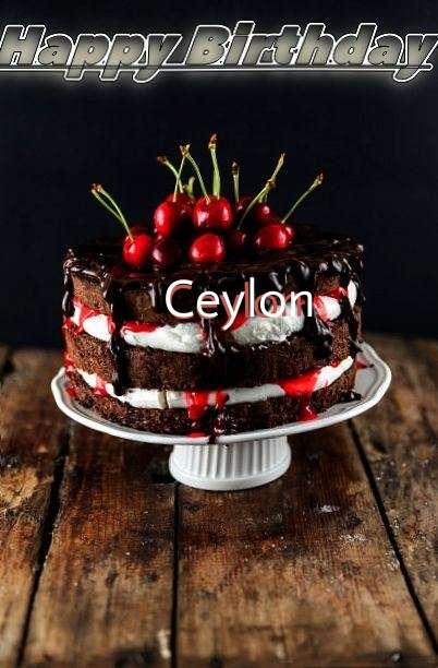 Happy Birthday Ceylon