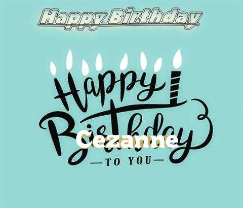 Happy Birthday Cezanne