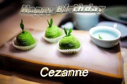 Happy Birthday Cezanne Cake Image