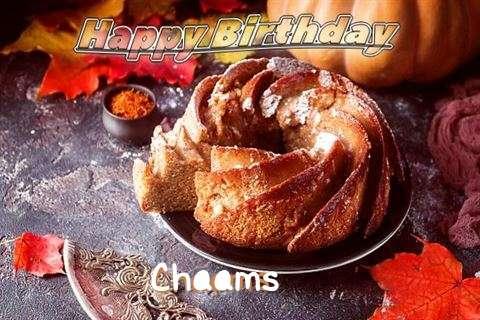 Happy Birthday Chaams