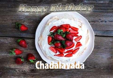 Happy Birthday Chadalavada Cake Image