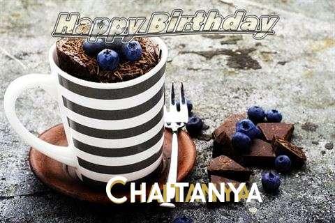 Happy Birthday Chaitanya Cake Image