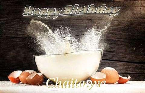 Happy Birthday Cake for Chaitanya