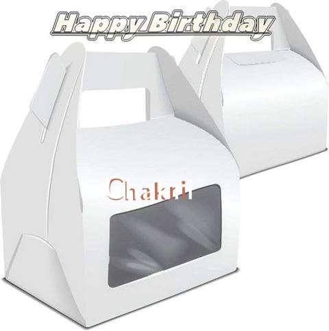Happy Birthday Wishes for Chakri