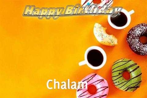 Happy Birthday Chalam