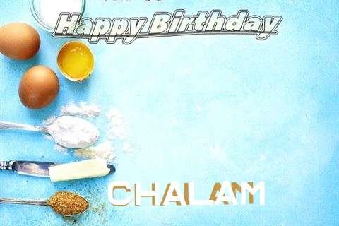 Happy Birthday Cake for Chalam