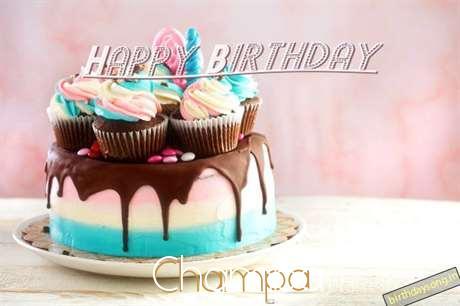 Happy Birthday Champa