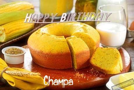 Champa Birthday Celebration