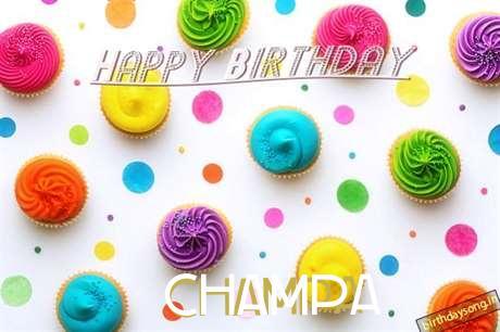 Champa Cakes