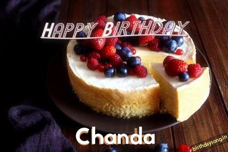 Happy Birthday Wishes for Chanda