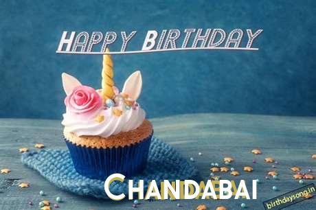 Happy Birthday Chandabai