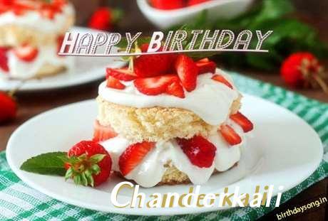 Happy Birthday Chanderkali Cake Image
