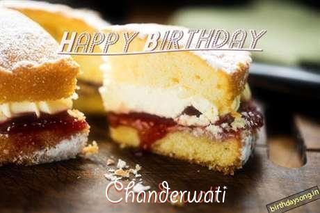 Happy Birthday Chanderwati Cake Image