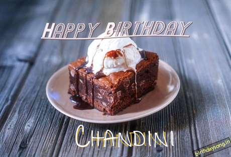 Happy Birthday Chandini Cake Image