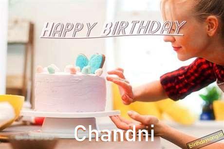 Happy Birthday Chandni Cake Image