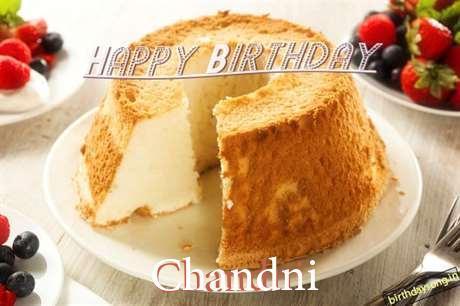 Happy Birthday Wishes for Chandni