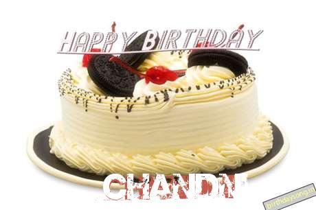Happy Birthday Cake for Chandni