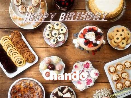 Happy Birthday Chando