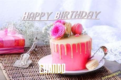 Happy Birthday to You Chando