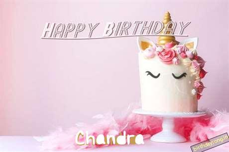 Happy Birthday Cake for Chandra