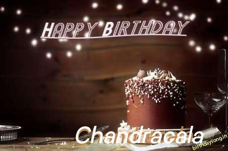 Happy Birthday Cake for Chandracala