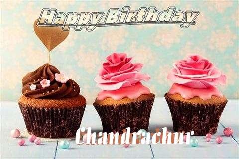 Happy Birthday Chandrachur Cake Image