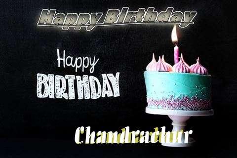 Happy Birthday Cake for Chandrachur